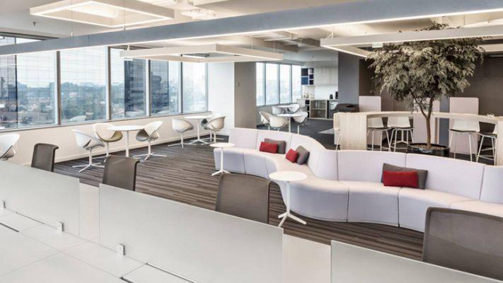 Decoração funcional de escritórios