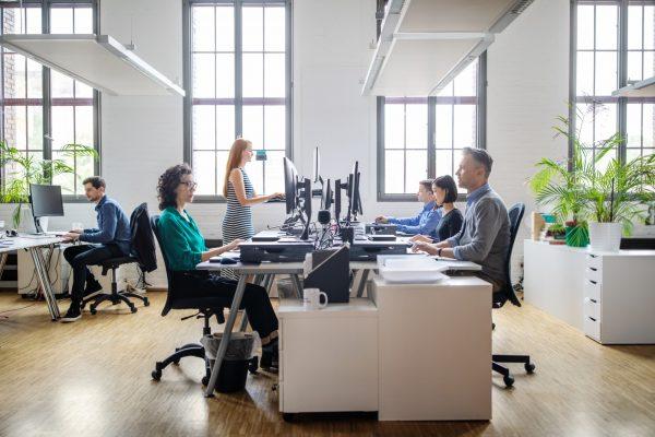 altura da mesa de escritório